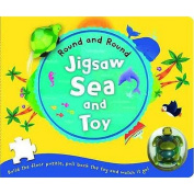 Jigsaw Sea and Toy (Round and Round) [Board book]