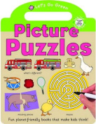 Puzzles and Games Sticker Book