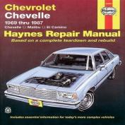 Chevrolet Chevelle V8 and V6 1969-87 Chevelle, Malibu, El Camino Owner's Workshop Manual