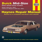 Buick Mid-size Rear Wheel Drive Models 1974-87 Owner's Workshop Manual