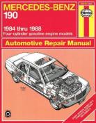 Mercedes-Benz 190 1984-88 Automotive Repair Manual