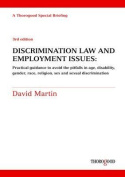 Discrimination Law and Employment Issues