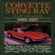 Corvette Sting Ray Gold Portfolio, 1963-67