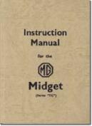 MG Midget Service Record Book