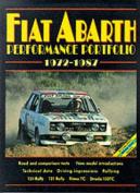Fiat Abarth Performance Portfolio 1972-87