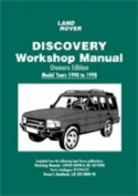 Land Rover Discovery Workshop Manual Owners Edition 1990 to 1998