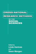 Cross National Research Methods in the Social Sciences