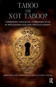 Taboo or Not Taboo