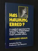 Has Hawking Erred?