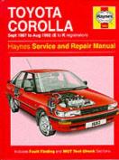 Toyota Corolla 1987-92 Service and Repair Manual