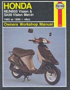 Honda NE/NB50 Vision and SA50 Vision Met-in Owner's Workshop Manual