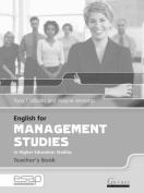English for Management Studies Teacher's Book