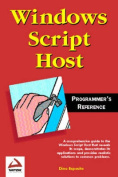 Windows Script Host Programmer's Reference