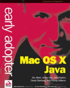 Early Adopter Mac OS X Java