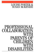 Professional Collaboration with Parents of Children with Disabilities