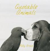 Quotable Animals