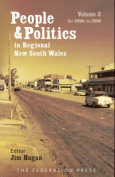 People and Politics in Regional New South Wales