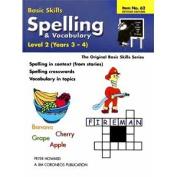 Basic Skills - Spelling/Vocabulary Level 2 (Purple/Black/White)