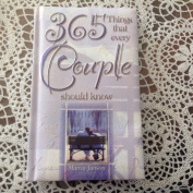 365 Things That Every Couple Should Know
