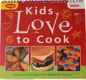 Kids Love to Cook [Audio]