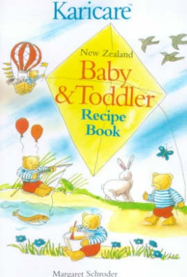 Karicare New Zealand Baby and Toddler Recipe Book