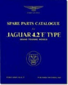 Jaguar E-Type 4.2 Series 1 Parts Catalogue