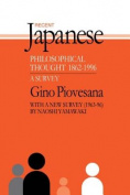 Recent Japanese Philosophical Thought 1862-1994