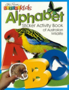 Nature Kids Alphabet Sticker Activity Book of Australian Wildlife