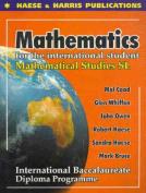 Mathematical Studies - Standard Level