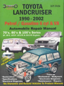 Toyota Landcruiser 1990-2002 Petrol/Gasoline 6 Cyl and V8