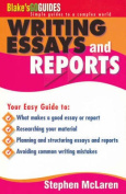 Blake's Go Guide Essay and Report Writing