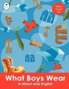 What Boys Wear in Maori and English [MAO]