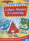 Colors, Shapes & Counting  : Ages 3-5