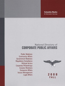 National Directory of Corporate Public Affairs