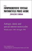 Comprehensive Vintage Motorcycle Price Guide
