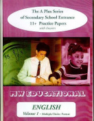 English (Standard Format): The A Plus Series of Secondary School Entrance 11+ Practice Papers: with Answers