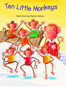 Ten Little Monkeys [Board book]