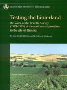 Testing the Hinterland