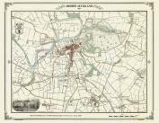 Bishop Auckland 1858 Map