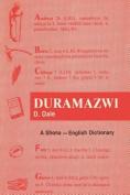 Duramaxwi. A Shona-English Dictionary