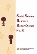 Social Science Research Report Series, No. 33