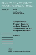 Symplectic and Poisson Geometry on Loop Spaces of Smooth Manifolds and Integrable Equations