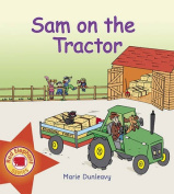 Sam on the Tractor