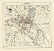 Burnley 1848 Map
