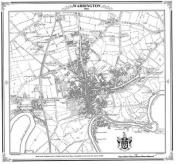 Map of Warrington 1844