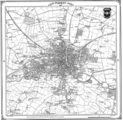 Map of Paisley 1857
