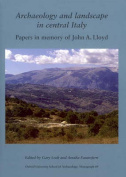 Archaeology and Landscape in Central Italy