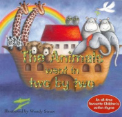 Animals Went In Two By Two [Board book]