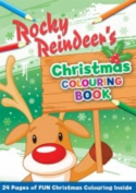 Rocky Reindeer's Christmas Colouring Book [Paperback]