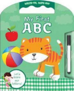 Write and Wipe Carry-Along My First ABC [Board book]